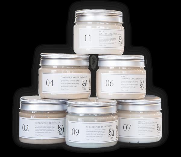 Kasai hair treatment products